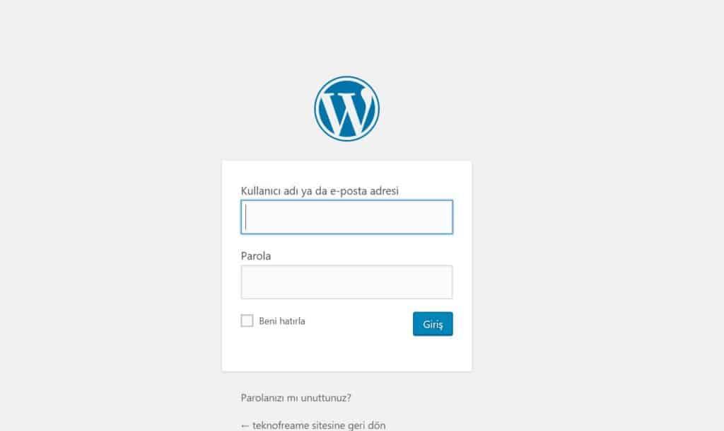 wordpress nasıl kurulur