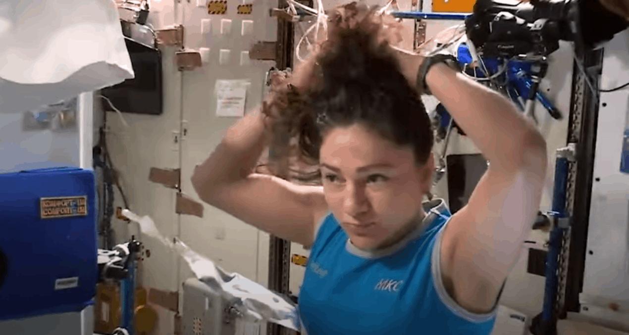 Astronotlar, tuvaleti uzayda nasıl kullanıyor? Jessica Meir yanıtladı